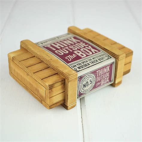 think outside the box puzzle think outside the box puzzle by nest notonthehighstreet