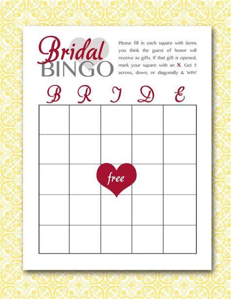 printable bridal shower bingo pdf bridal bingo printable pdf bridal bingo bingo and