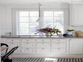 Country Kitchen With White Cabinets Miscellaneous White Country Kitchen Interior Decoration And Home Design