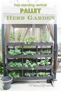 Winter Indoor Herb Garden - 25 amazing diy projects to repurpose pallets into garden planters