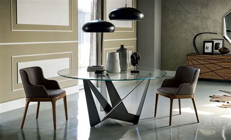 mesa comedor redonda cristal mesa comedor redonda skorpio cattelan en portobellostreet es