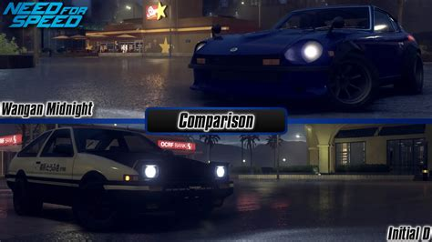 Need For Speed 2015 Wangan Midnight Vs Initial D