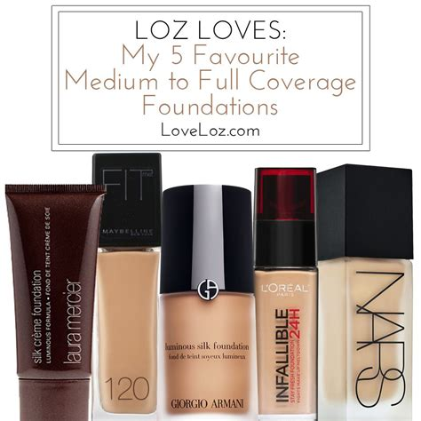 what is the best full coverage foundation for 2015 the best full to medium coverage foundations loveloz