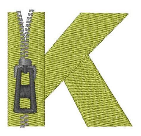zipper design pattern zipper font k embroidery design annthegran