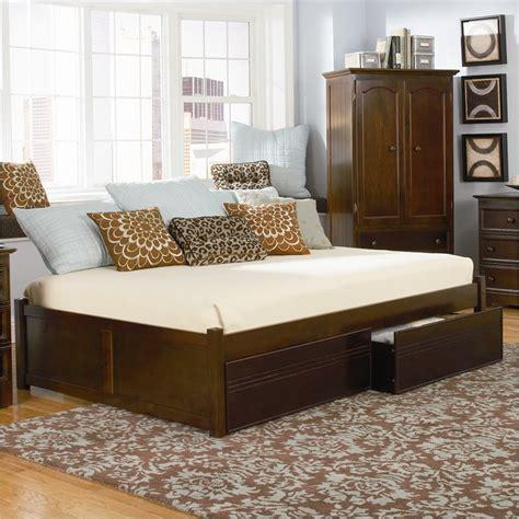 Atlantic Bedroom Furniture Atlantic Furniture Platform Bed With Flat Panel Footboard 2 Bedroom Set