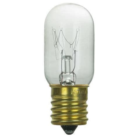 sunlite 15w t7 120v intermediate base clear bulb bulbamerica