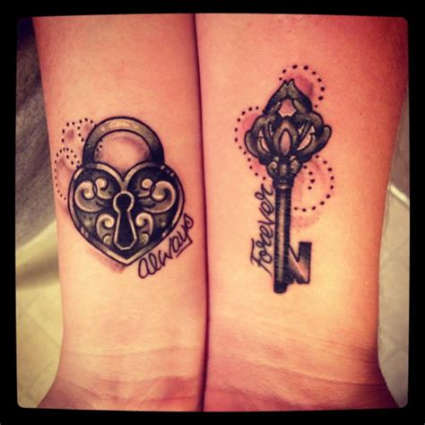 cute matching couple tattoos 60 matching ideas for couples together forever