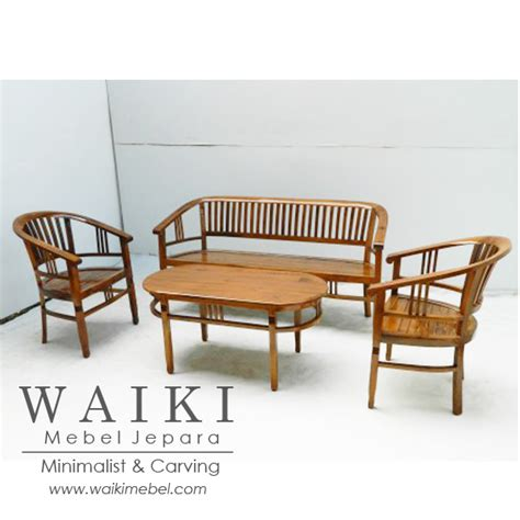 Kursi Tamu Model Betawi set kursi tamu batavia jati minimalis teak contemporary furniture jepara