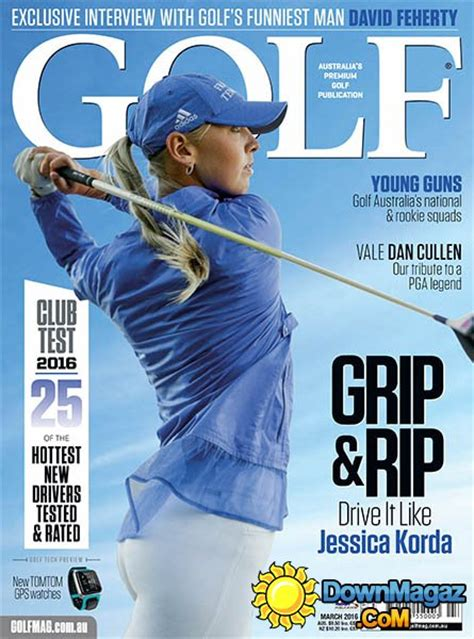 swing golf magazine golf magazine au march 2016 187 download pdf magazines