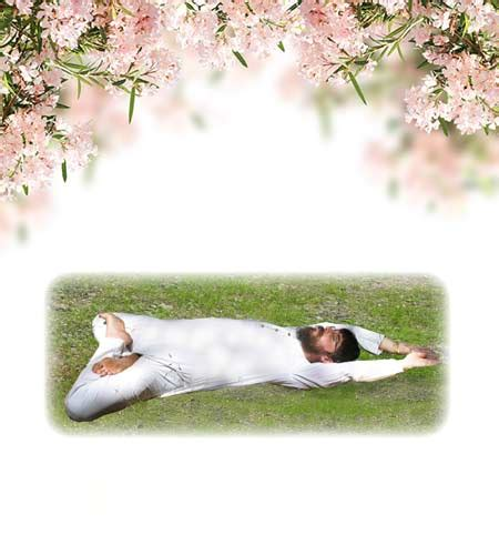 reclining lotus position shree maa s yoga devi mandir