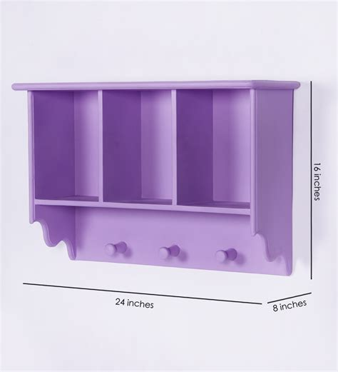 casacraft purple wall shelf by casacraft wall