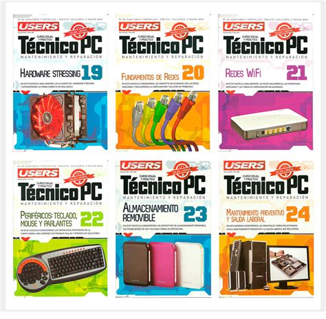 coleccion libros users pack 2 espanol pdf mega colecci 243 n t 233 cnico pc users 24 revistas pdf espa 241 ol descargar gratis