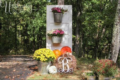 deco ideas fall porch decor with plants and pumpkins unskinny boppy