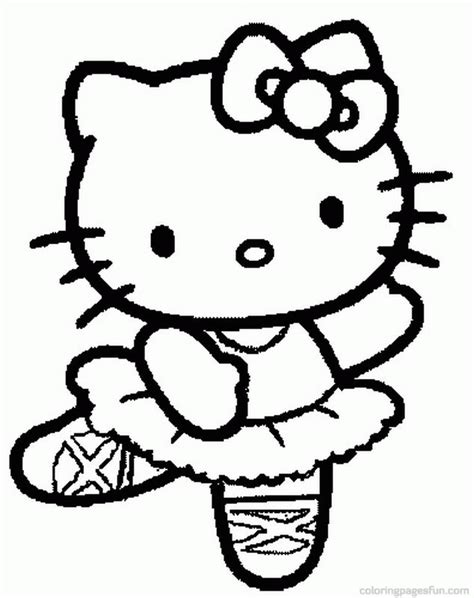 hello kitty dance coloring pages hello kitty dance coloring page kidsycoloring free