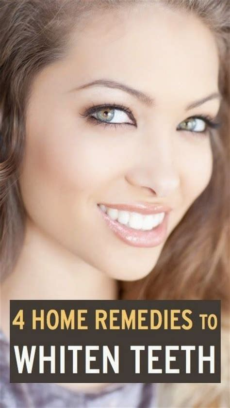 4 ways to whiten your teeth at home to get whiter teeth