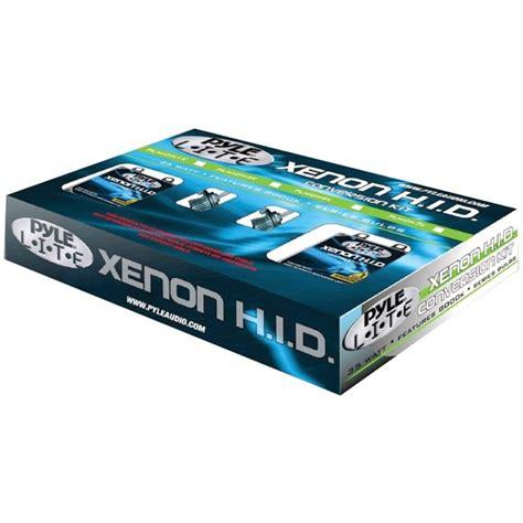 pyle plhidh1k 8000k hid xenon driving light system kit single beam h1 series bulbs
