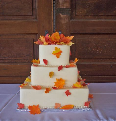 Fall Wedding Cakes by Wedding Cakes