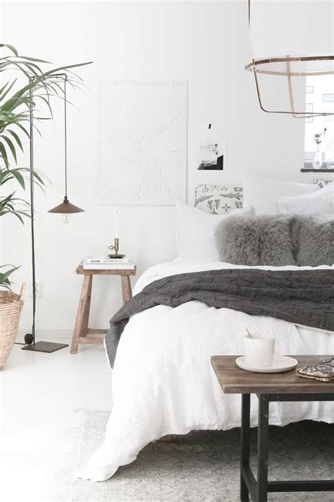 scandinavian bedroom ideas  pinterest