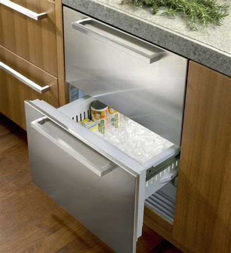idf   integrated double drawer freezer
