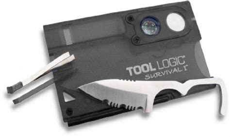 tool logic survival card tool logic svc1 survival card tool with 1 2 serrated knife