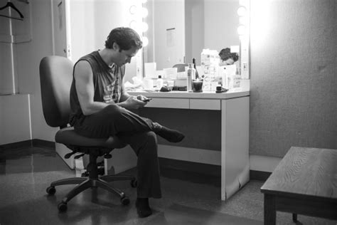dressing room flash photo flash the of lyric opera of chicago s carousel with osnes steven