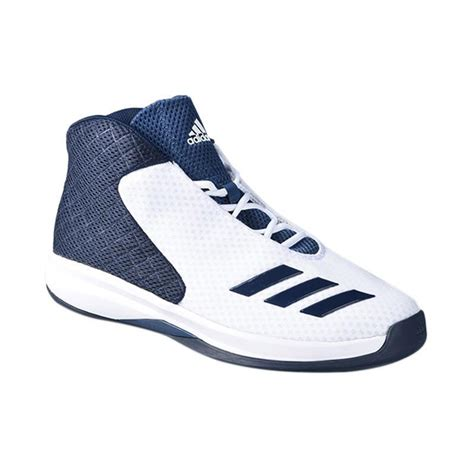Sepatu Basket Baru jual adidas basketball nba court fury 2016 white navy sepatu basket aq7298 harga