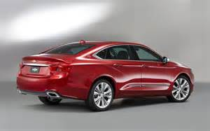 2014 chevrolet impala rear three quarters photo 2