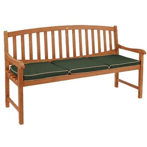 garden bench cushions garden 3 seater cushion green the garden factory