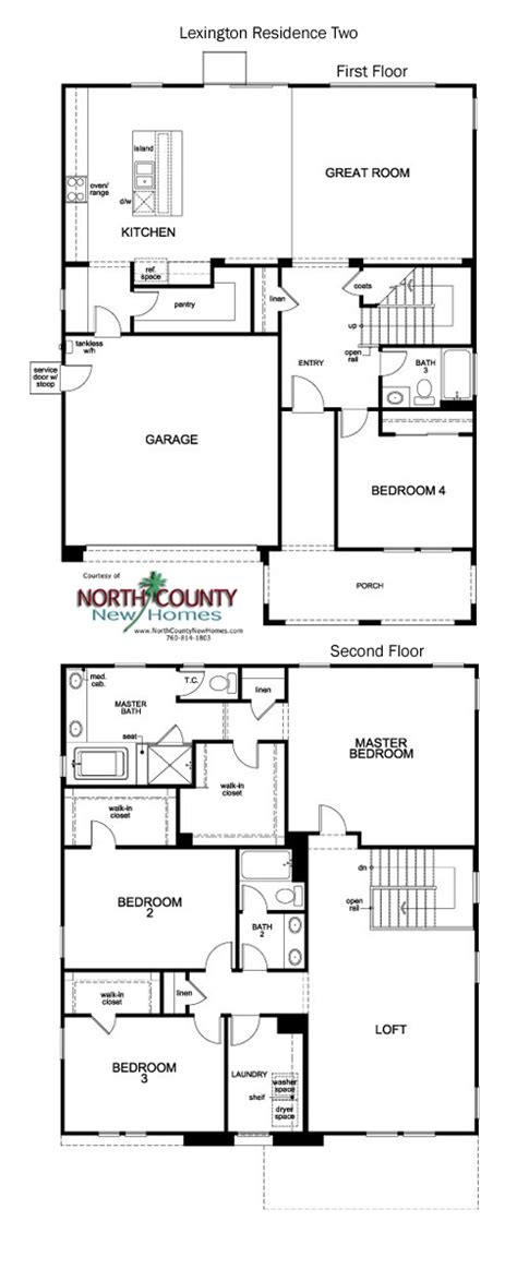 lexington floor plan lexington floor plans new homes in escondido 1 2 story