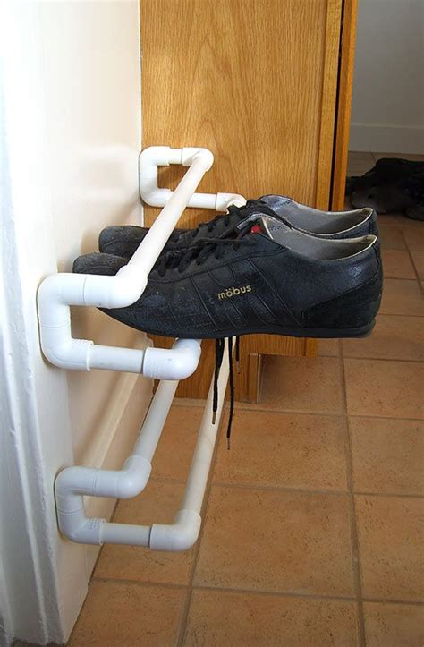 Pvc Shoe Rack by 25 Best Pvc Shoe Racks Ideas On