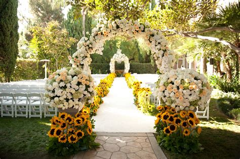 wedding decor outside decorations with bold colors photos