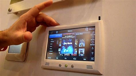 elan home systems demos g home automation system at ise