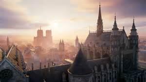 Unity Landscape Definition Assassins Creed Unity City Wallpaper Hd