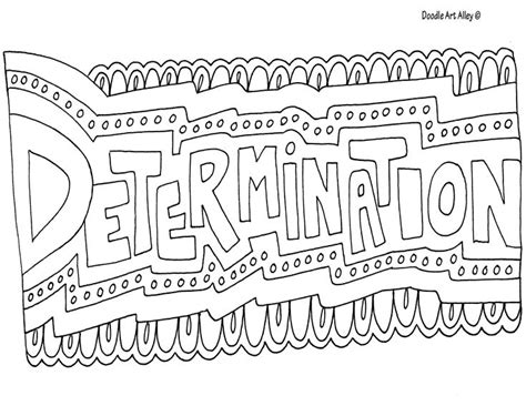 Coloring Page Words by Http Www Doodle Alley Coloring Quotes