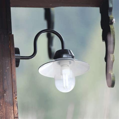 Brompton Bracket Lu Reflektor L Be robust german outdoor sconce bremen with curved bracket