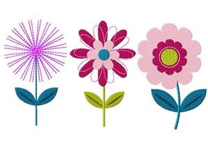 flower three pack machine embroidery designs for gold