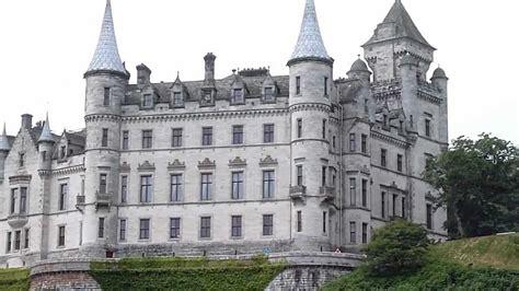 Sw Castle dunrobin castle and gardens scotland