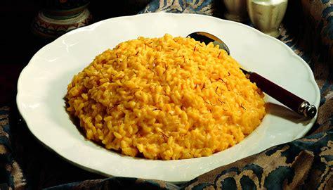 ricette di cucina italiana giallo zafferano ricetta riso giallo allo zafferano la cucina italiana