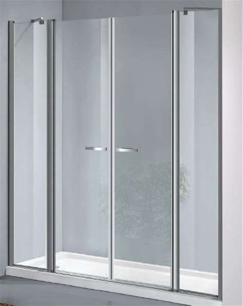 doccia doppia box doccia a doppia porta battente con due ante fisse cod