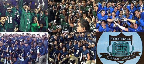 san diego section cif san diego football network six 2015 cif section chions
