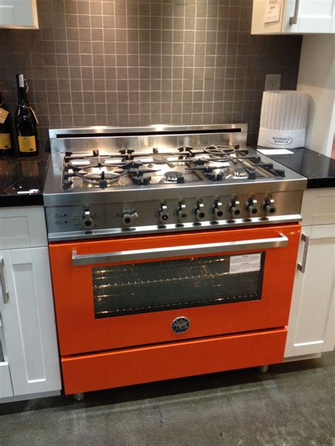 bertazzoni range 46 best images about arancio on clean oven