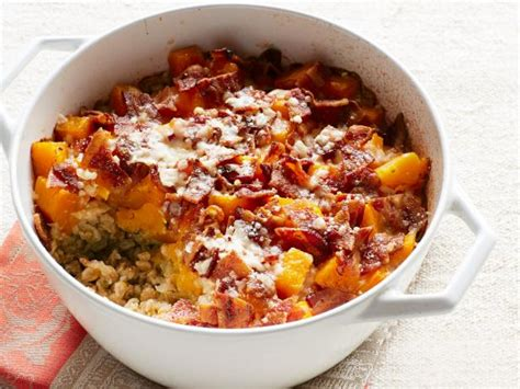 ina garten make ahead meals baked farro and butternut squash recipe ina garten food network
