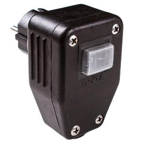wandle mit schalter und stecker elektrofachmarkt schutzkontaktstecker und kupplung