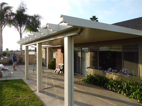 House With Porch by Closed Patio Cover Mission Viejo Double Beam Flat Pan2