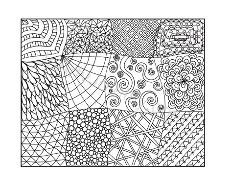 free printable zentangle patterns 8 best images of printable zentangle coloring pages pdf
