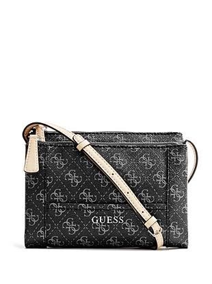 Guess Delaney Mini Palm handbags essential zip quattro g cross