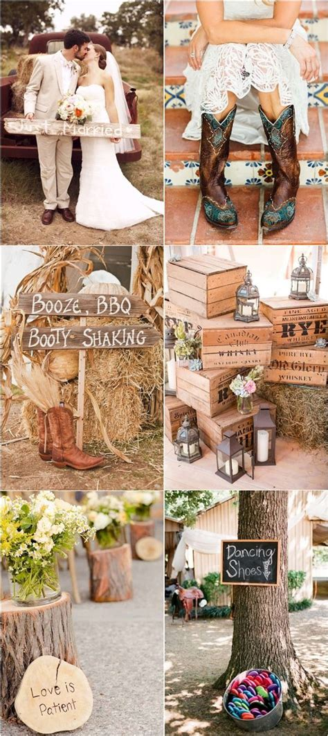 25 best ideas about rustic country weddings on rustic country wedding decorations