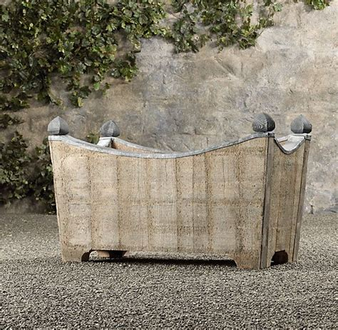 Trough Planters Metal by 23 Best Images About Courtyard On Outdoor