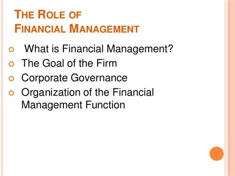 What Is Mba Investment Management by Financial Managemet Mba Lect 1