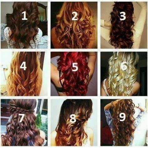 different hairstyles of curls pin by amy maxey on beauty pinterest